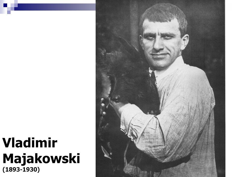 Vladimir Majakowski (1893-1930)