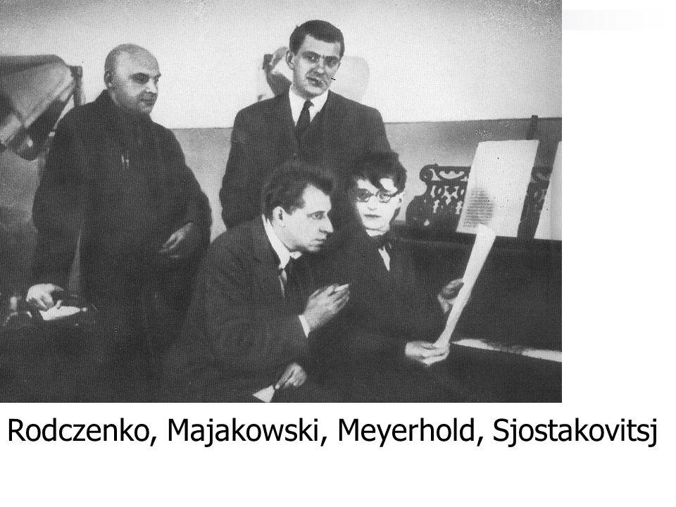 Rodczenko, Majakowski, Meyerhold, Sjostakovitsj