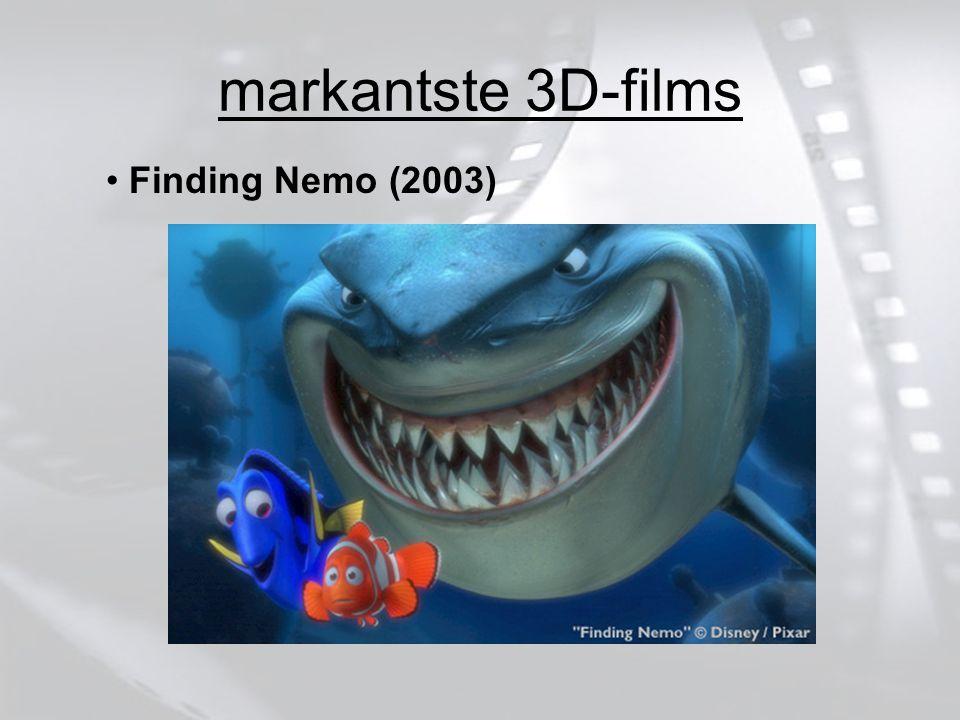 markantste 3D-films Finding Nemo (2003)