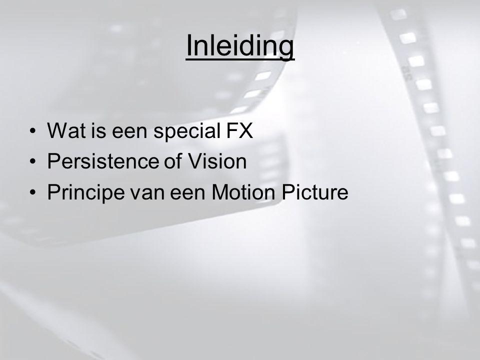 - 35 mm (standaard) - 16 mm (goedkoper) - 65 mm (IMAX) Films in het algemeen