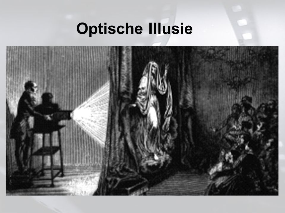 Geschiedenis Geschiedenis start voor de 1ste camera 1ste echte FX (1800): – Magic Lanterns Projecteren v/e film op een projectiescherm om een achtergrond te krijgen.