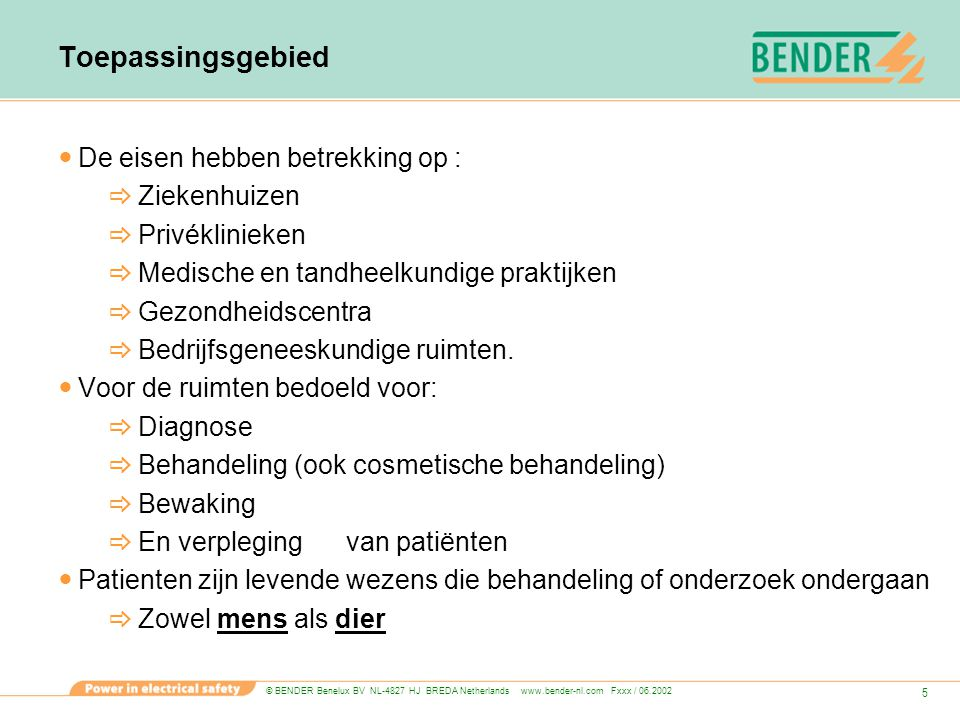 © BENDER Benelux BV NL-4827 HJ BREDA Netherlands www.bender-nl.com Fxxx / 06.2002 56 omschakeltijd van inst.