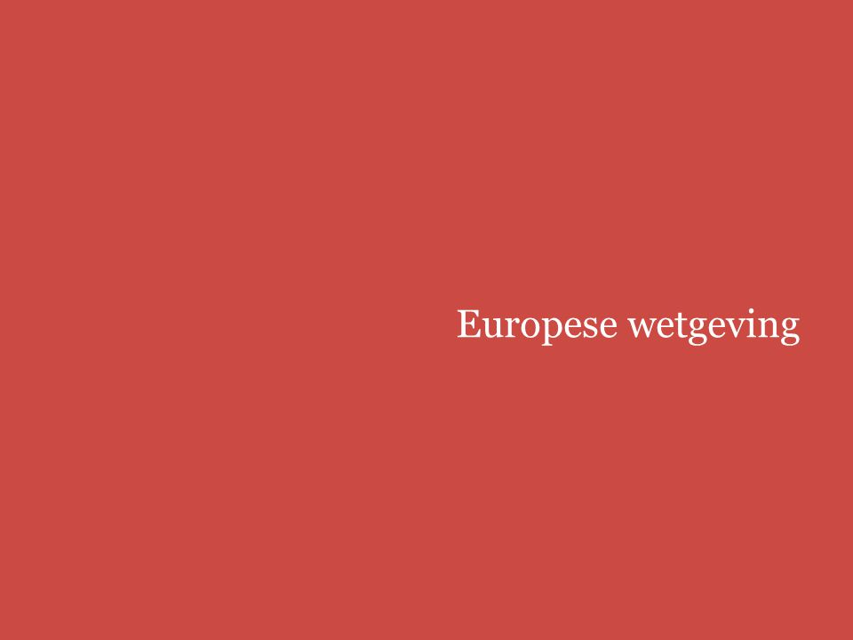 Europees modellenrecht | bbmm/fbmmpage 7 Europese wetgeving