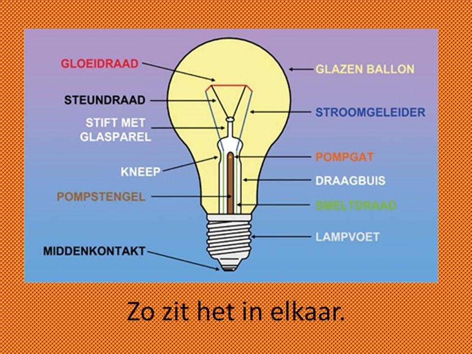 Gloeilamp vs. spaarlamp