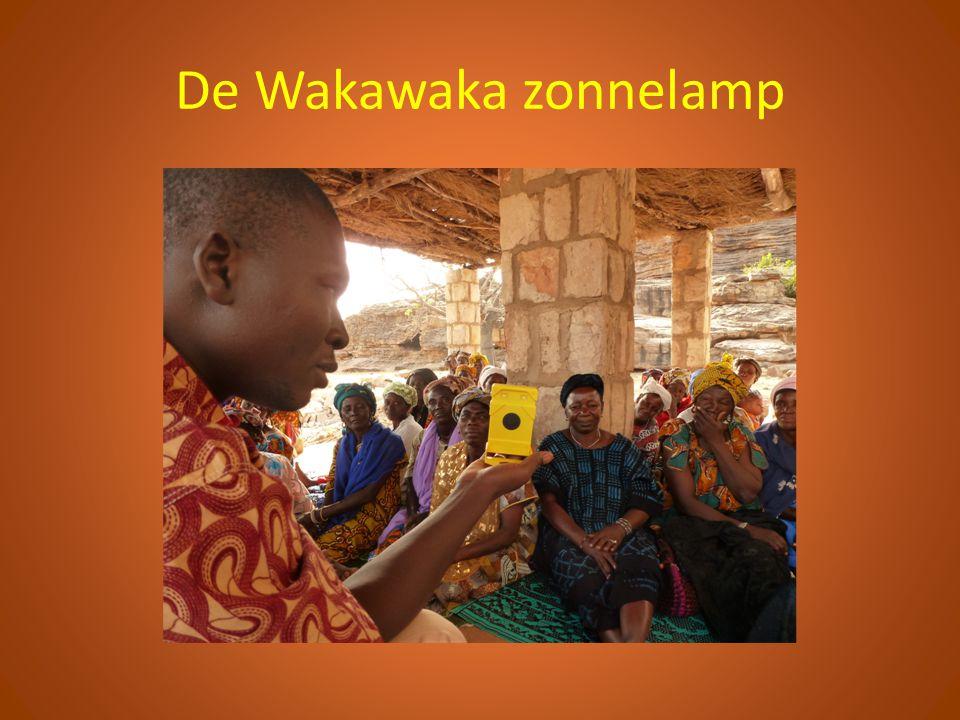 De Wakawaka zonnelamp