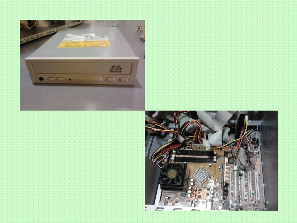 Geluidskaart Hogere kwaliteit geluid Aansluitingen: - Microphone-in & speaker-out versterkt - Line-in & line-out onversterkt Belangrijkste onderdelen: - Analoog/Digitaal en een Digitaal/Analoog omzetter - Synthesizer chip - MIDI-interface