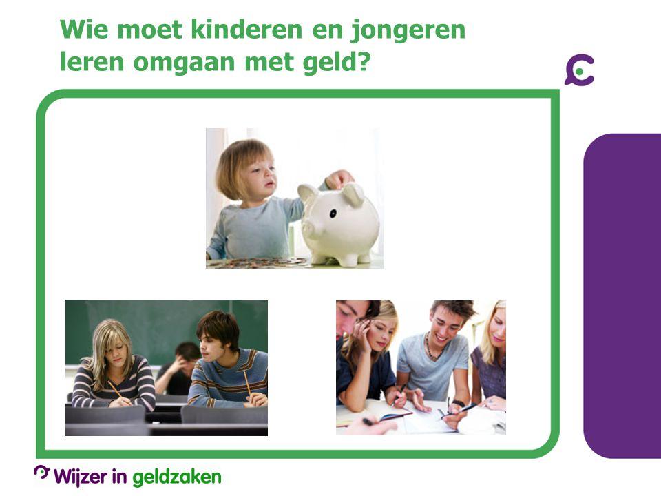 Wie moet kinderen en jongeren leren omgaan met geld?
