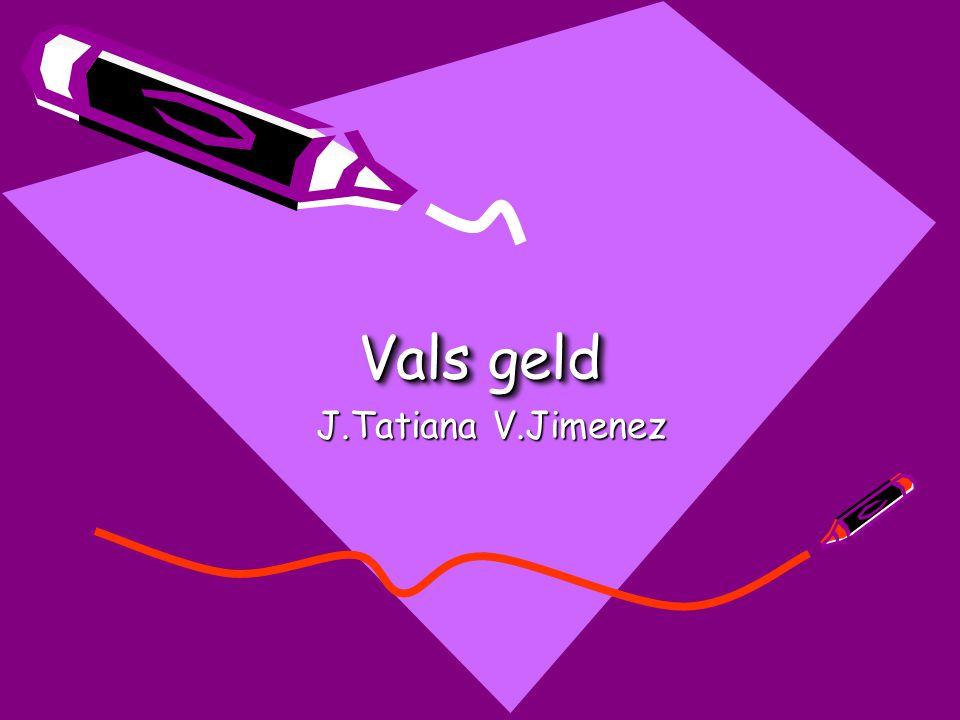 Vals geld J.Tatiana V.Jimenez