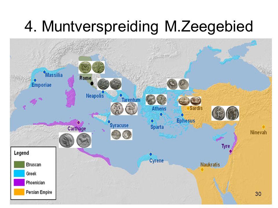 4. Muntverspreiding M.Zeegebied 30