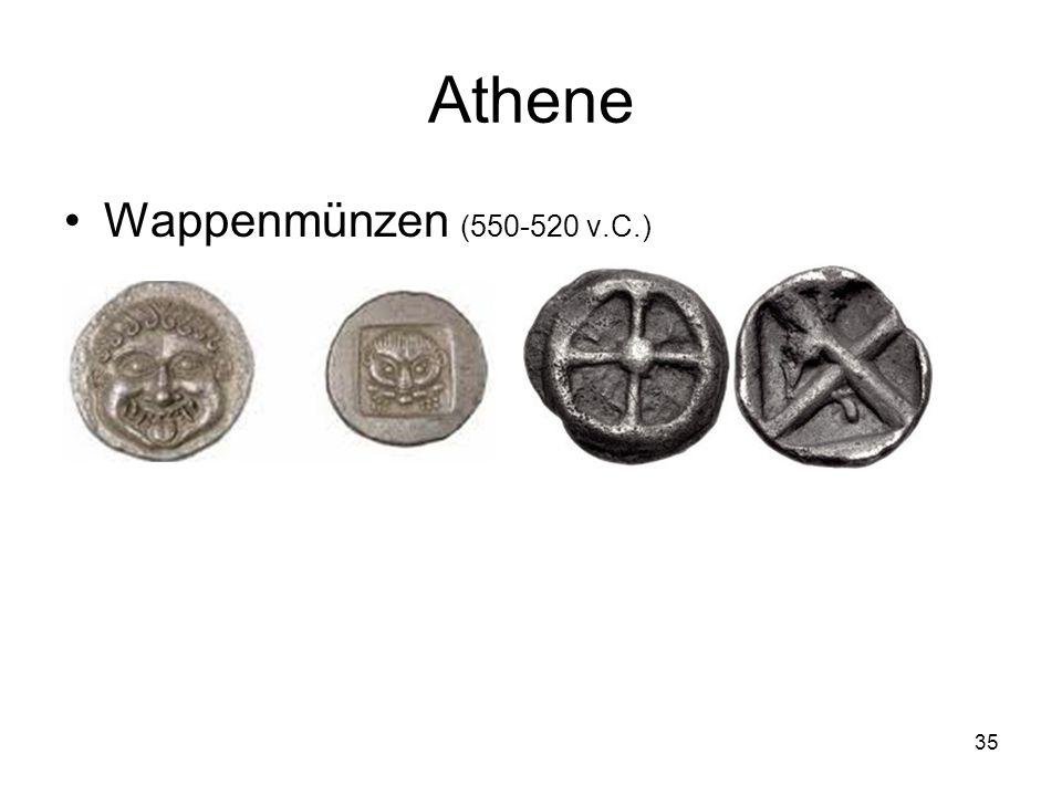 Athene Wappenmünzen (550-520 v.C.) 35