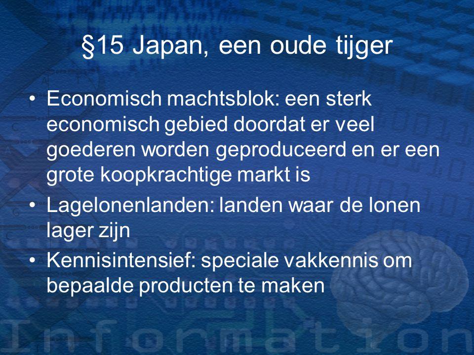 Economisch machtsblok: een sterk economisch gebied doordat er veel goederen worden geproduceerd en er een grote koopkrachtige markt is Lagelonenlanden