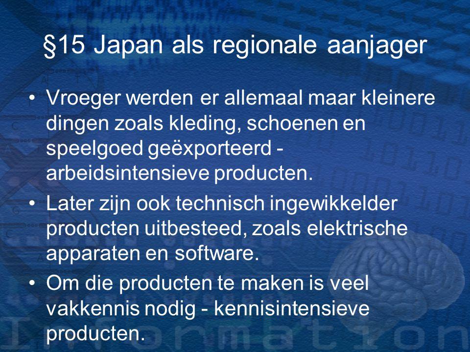 Economie Over de economie valt veel te vertellen.Zoals: –W–Welke industrie heeft Japan.