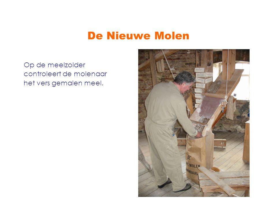 De Nieuwe Molen is een markant gebouw Samen met molen De Vriendschap vormt De Nieuwe Molen een markant stadsbeeld in Veenendaal.