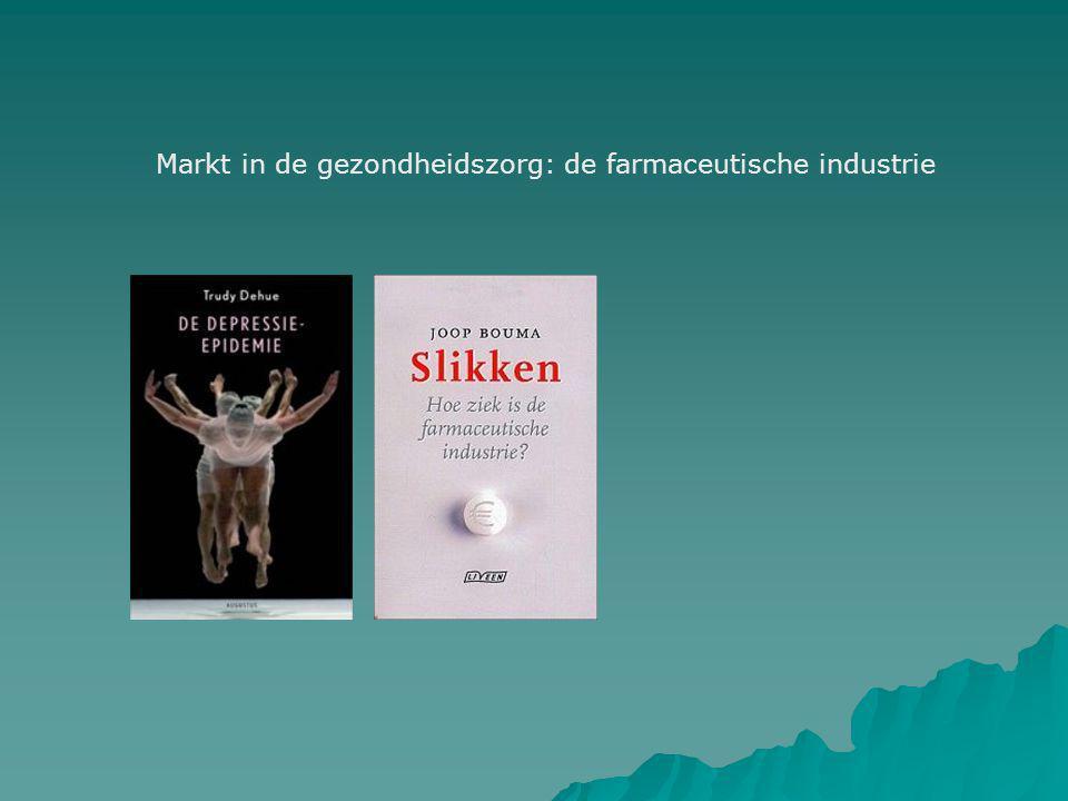 Markt in de gezondheidszorg: de farmaceutische industrie