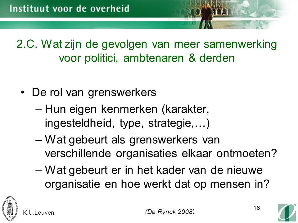 K.U.Leuven 16 2.C.
