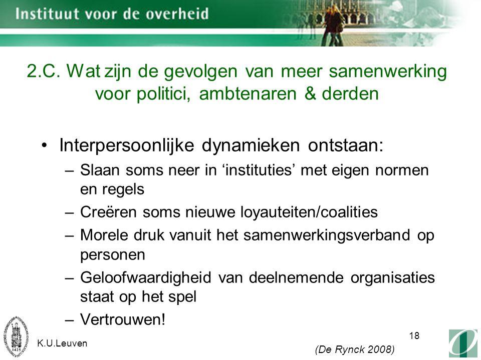 K.U.Leuven 18 2.C.
