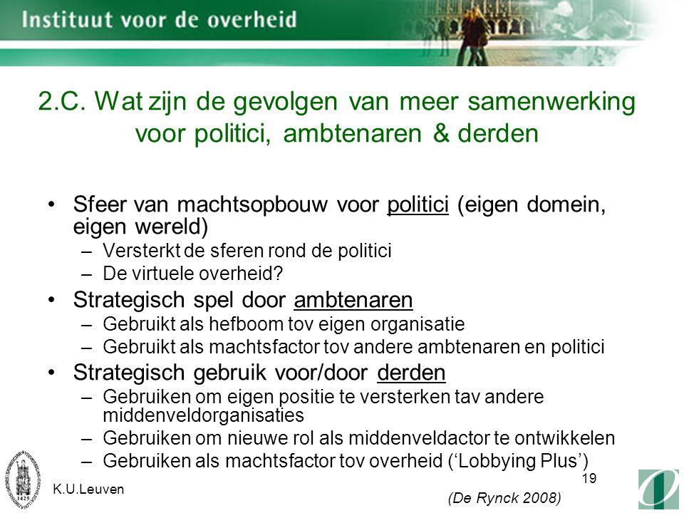 K.U.Leuven 19 2.C.