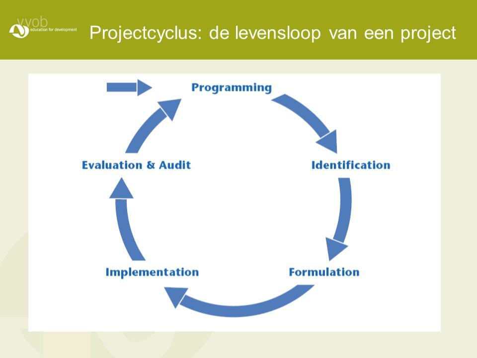 Projectcyclus: de levensloop van een project