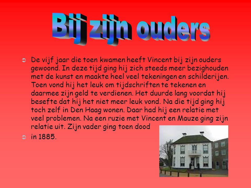  In november 1885 ging Vincent naar Antwerpen waar hij in een kleine kamer ging wonen.