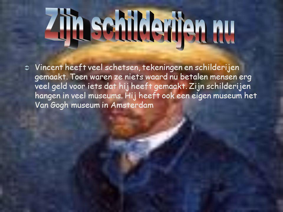 Vincent van Gogh schilderde beroemde schilderijen Hieronder volgen 10 werken van Vincent van Gogh.