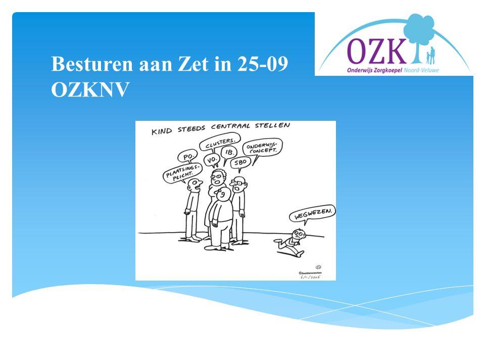 Besturen aan Zet in 25-09 OZKNV