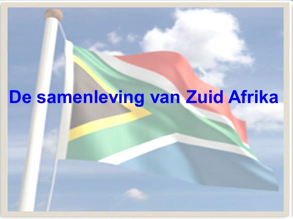 De samenleving van Zuid Afrika