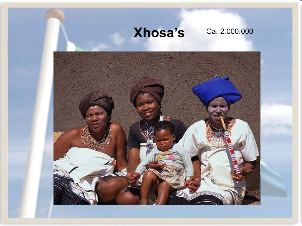 Xhosa's Ca. 2.000.000