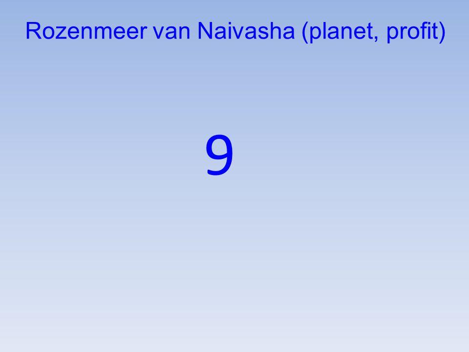 9 Rozenmeer van Naivasha (planet, profit)