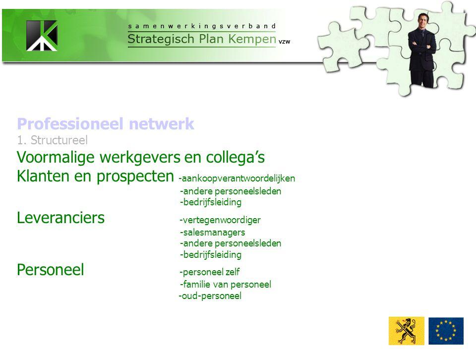 Professioneel netwerk 1.