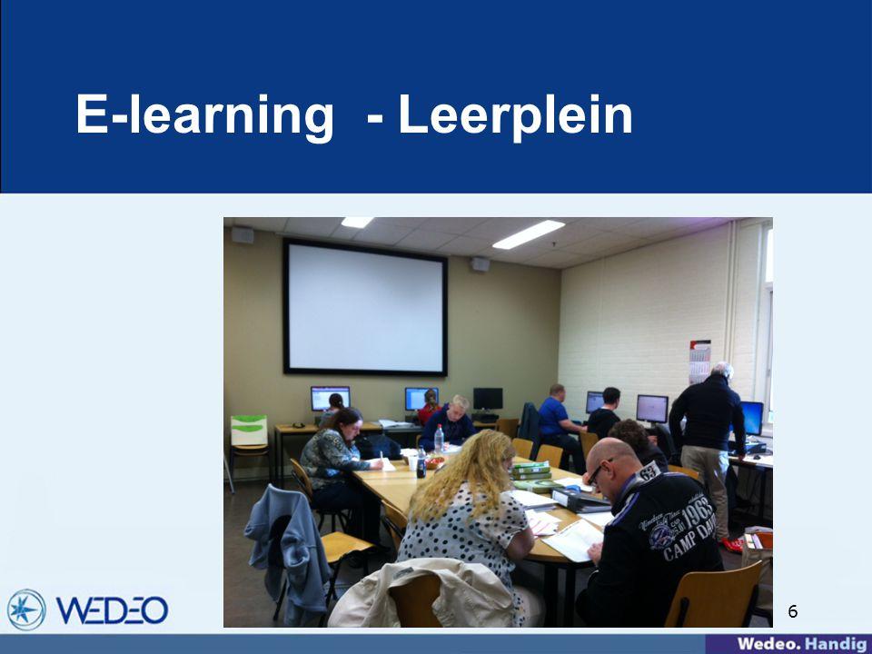 6 E-learning - Leerplein