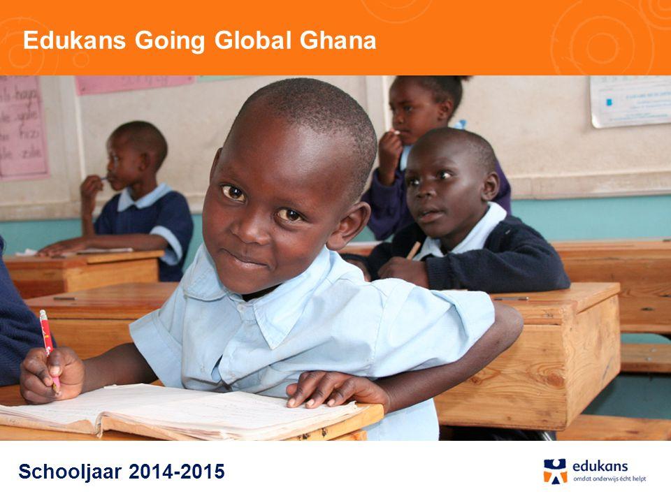 Edukans Going Global Ghana Schooljaar 2014-2015