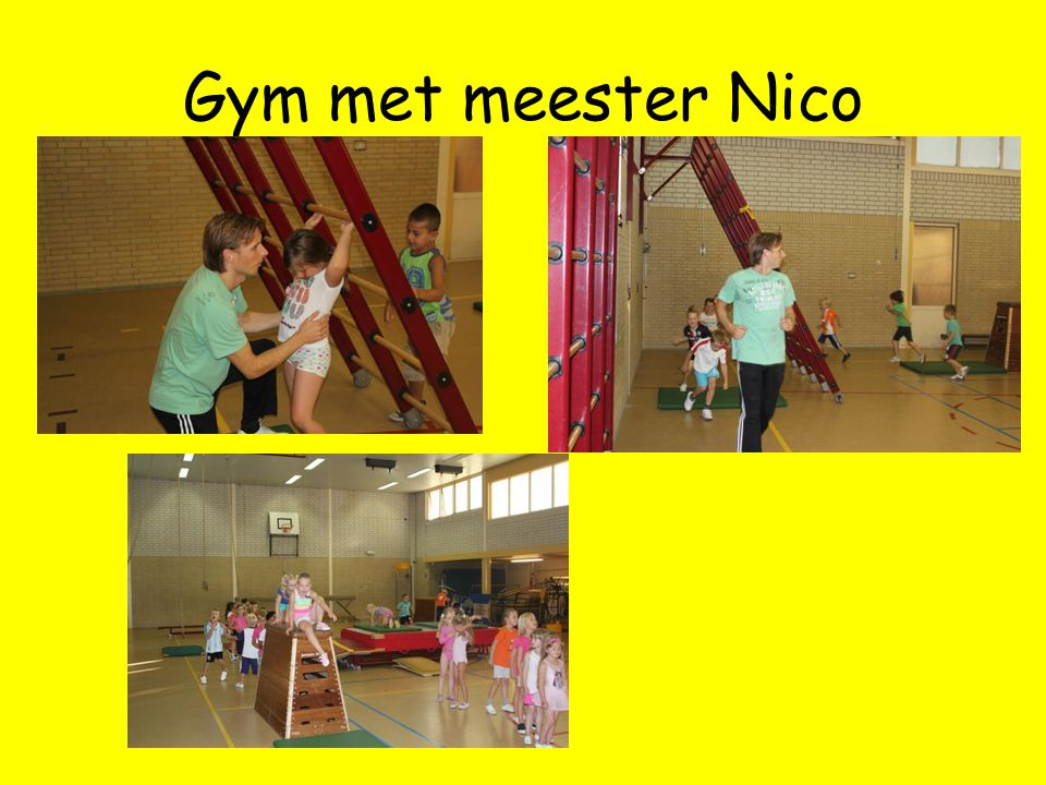 Gym met meester Nico