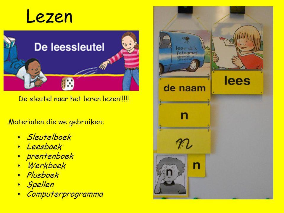 Lezen Sleutelboek Leesboek prentenboek Werkboek Plusboek Spellen Computerprogramma De sleutel naar het leren lezen!!!!.