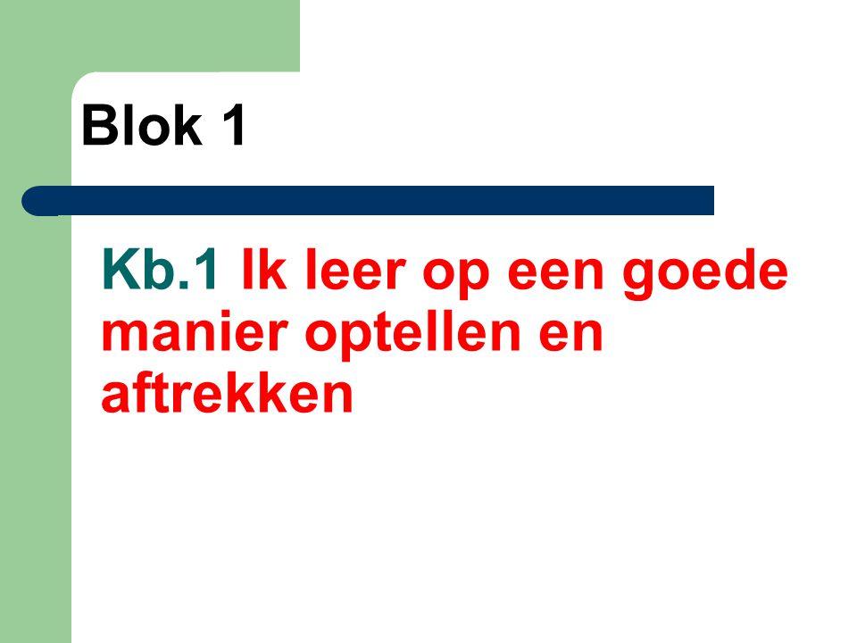 Kb. 15 Ik leer verschil bepalen tussen afstanden met kommagetallen Blok 3