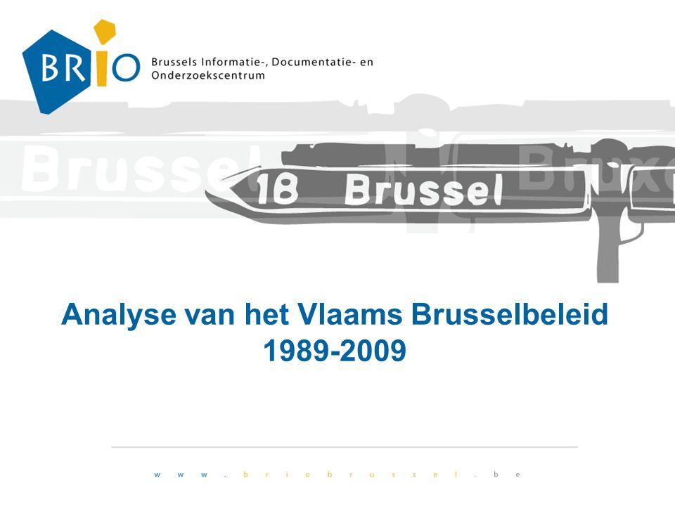 Analyse van het Vlaams Brusselbeleid 1989-2009