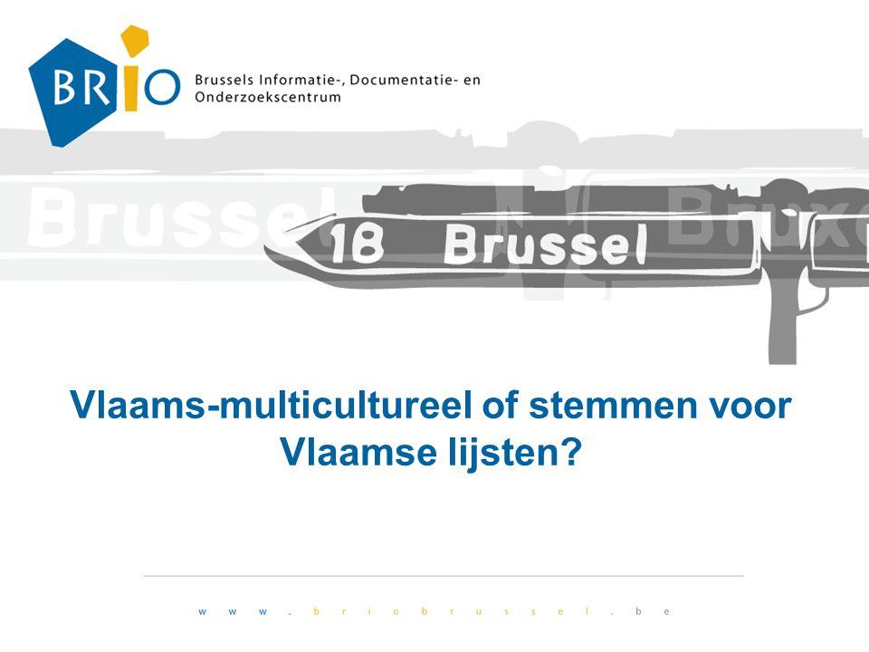 Vlaams-multicultureel of stemmen voor Vlaamse lijsten?