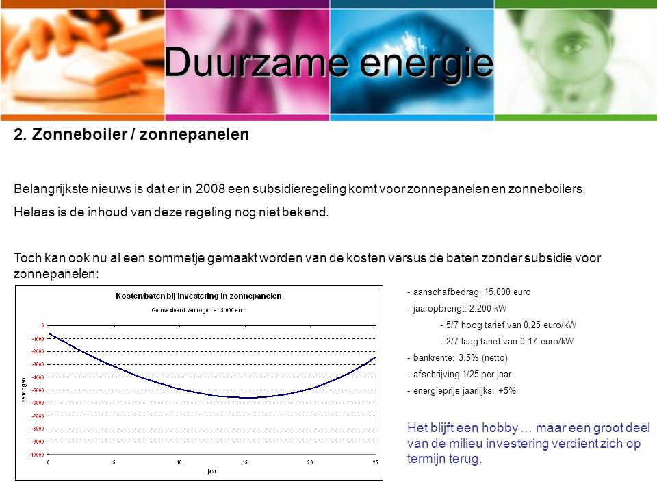 Duurzame energie 2.