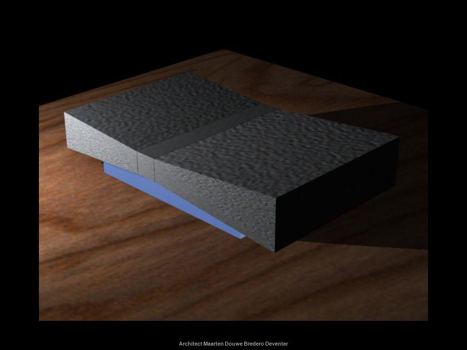 Architect Maarten Douwe Bredero Deventer ontwerpen Vergelijk de twee varianten ten aanzien van ontruimingstijd, functionaliteit en beleving.