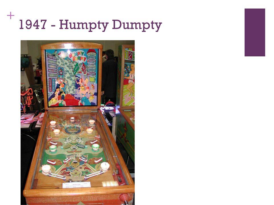 + 1947 - Humpty Dumpty