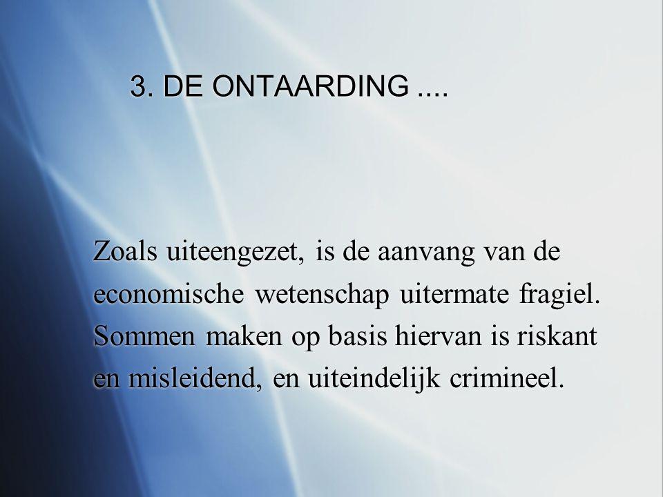 3. DE ONTAARDING....