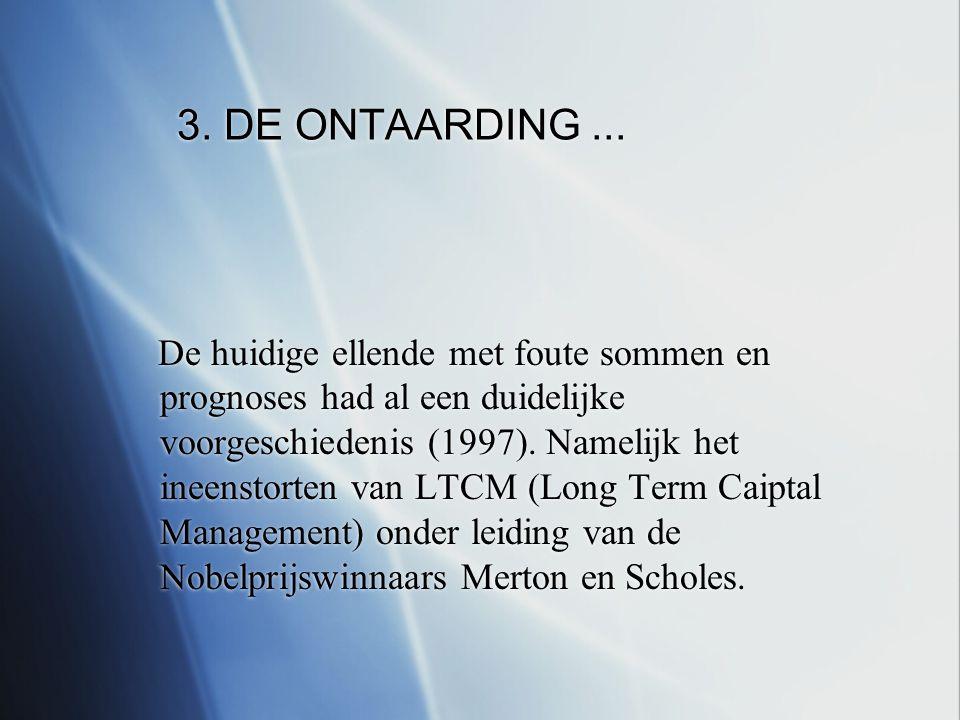 3. DE ONTAARDING...