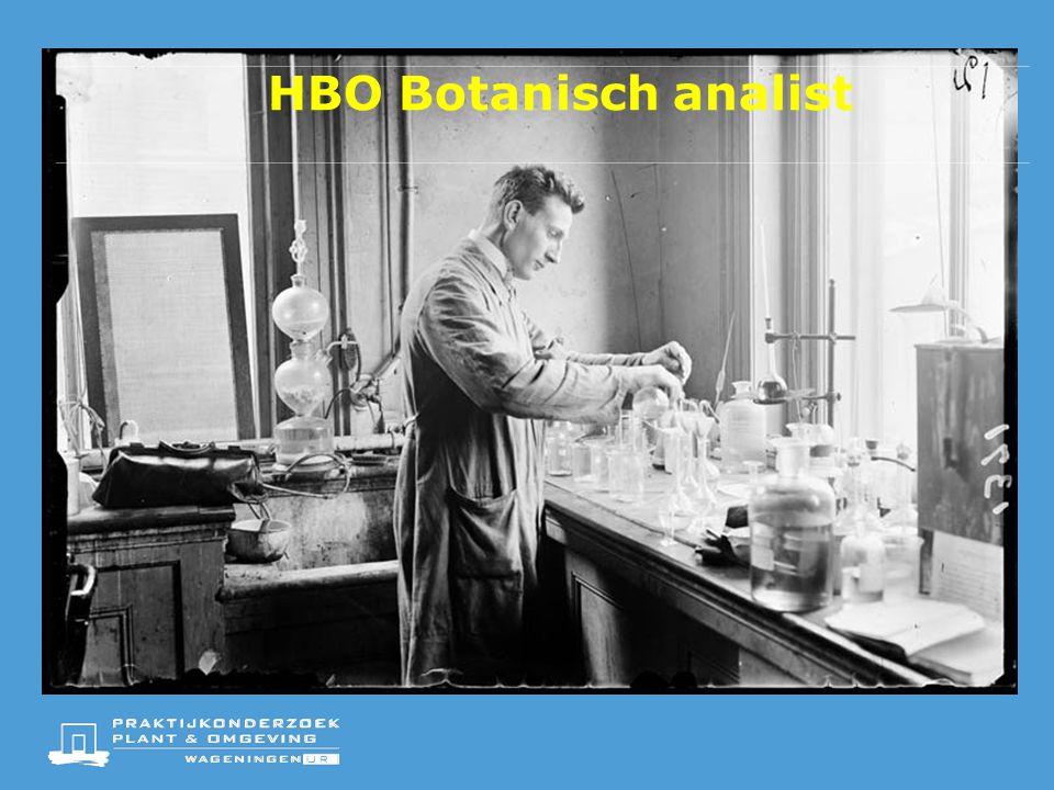 HBO Botanisch analist