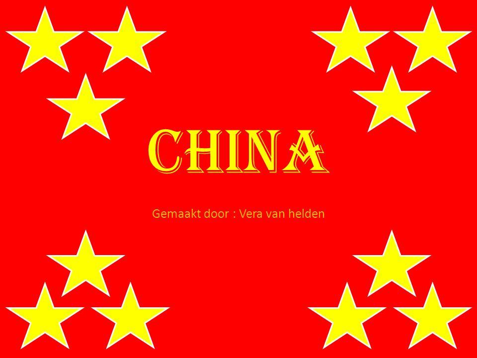 China Gemaakt door : Vera van helden