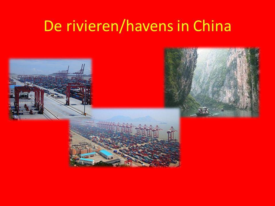 De rivieren/havens in China