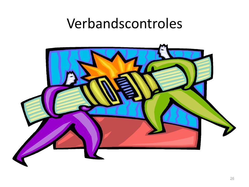 Verbandscontroles 26