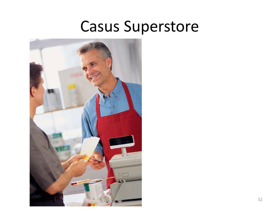 Casus Superstore 32