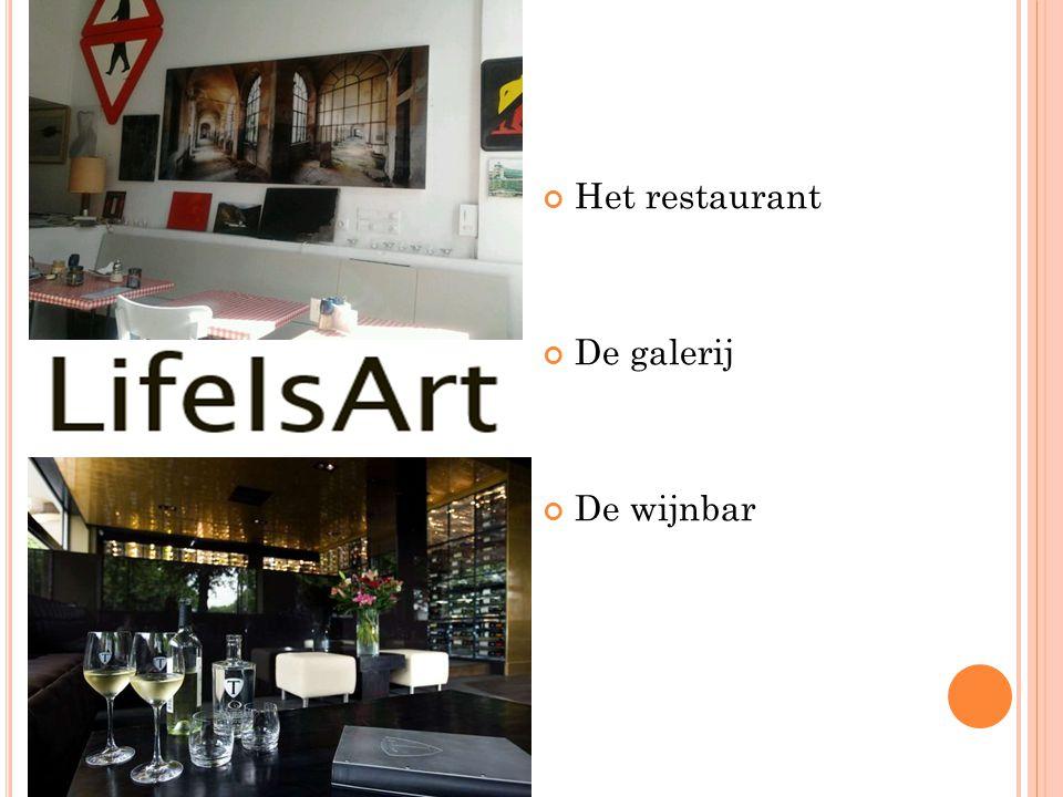 Het restaurant De galerij De wijnbar
