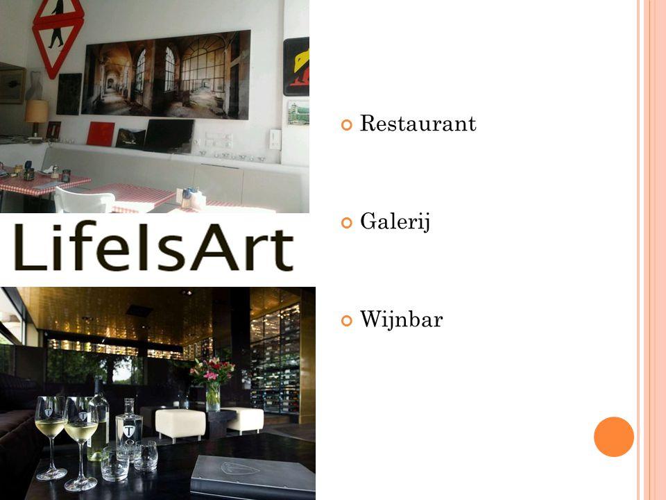 Restaurant Galerij Wijnbar