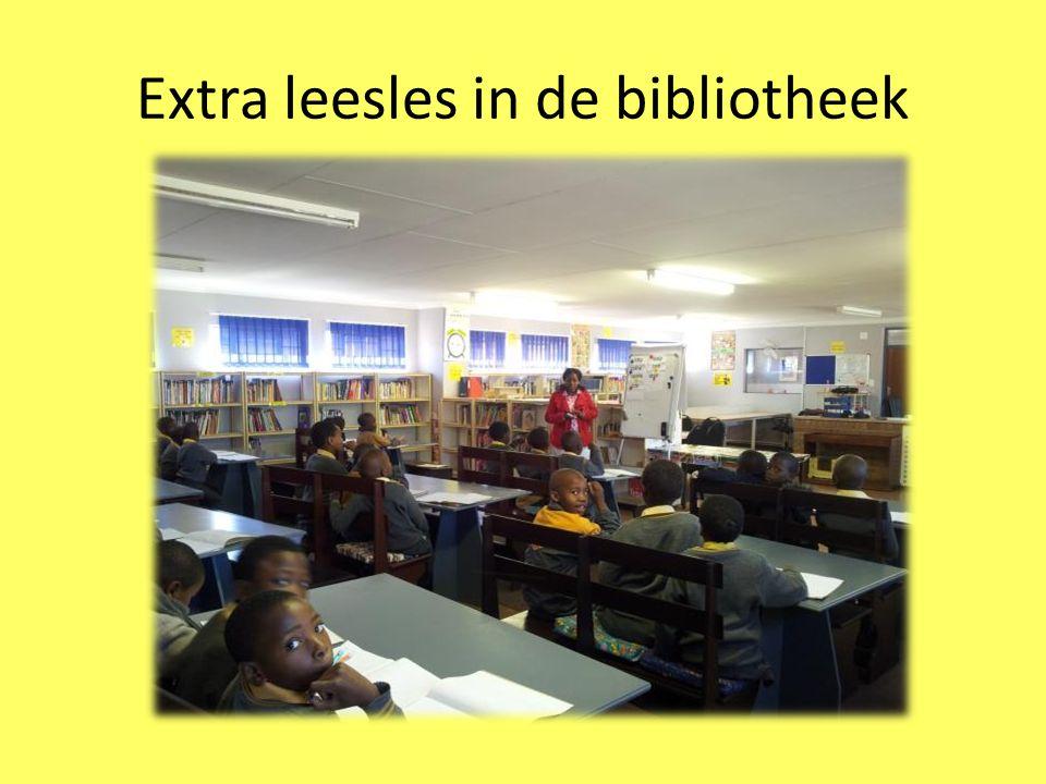 Extra leesles in de bibliotheek