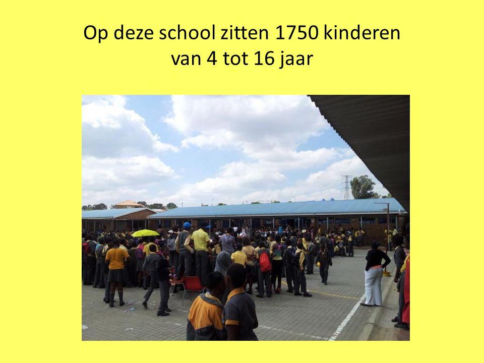 Op deze school zitten 1750 kinderen van 4 tot 16 jaar